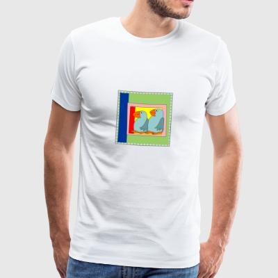Colorart1 - Premium-T-shirt herr