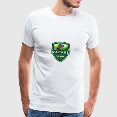 TORCHES RAUHAARDACKEL ILOVETECKEL - Men's Premium T-Shirt