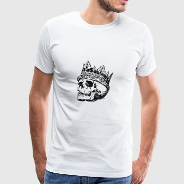 Skull - King - Men's Premium T-Shirt