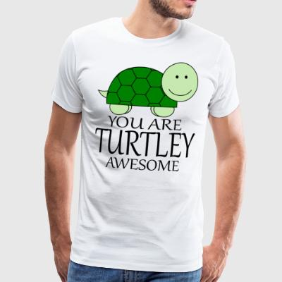 You_Are_Turtley_Awesome - Men's Premium T-Shirt
