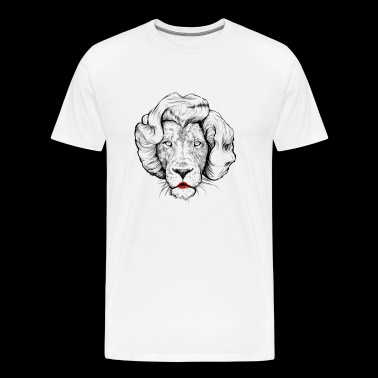 Lion Monroe - Men's Premium T-Shirt