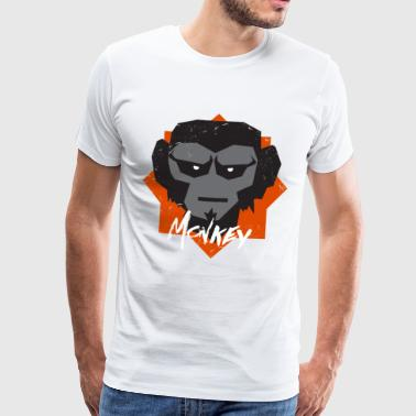 Gorilla blur seriously - Men's Premium T-Shirt