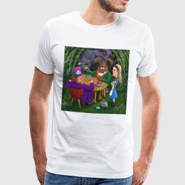 alice in wonderland thee pary - Mannen Premium T-shirt