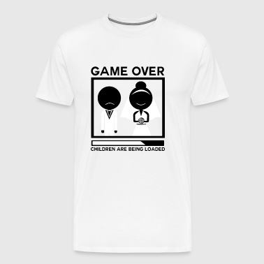 Heiraten Ehe game over Jungeselle - Männer Premium T-Shirt