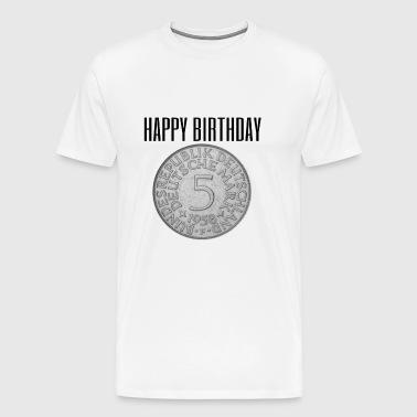 Birthday gift idea 60th birthday cool - Men's Premium T-Shirt