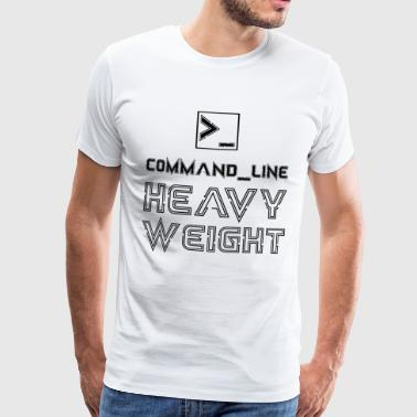Command Line Heavyweight Programmer Computer - Men's Premium T-Shirt