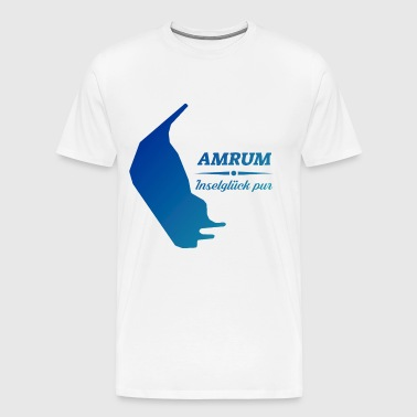 Amrum island happiness pure North Sea Island Amrum Gift - Men's Premium T-Shirt