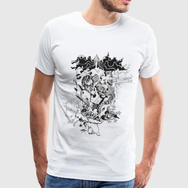 Snow Queen - Men's Premium T-Shirt