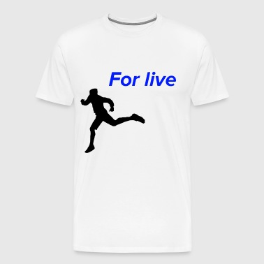 Run for life - Men's Premium T-Shirt