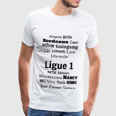 Ligue 1 2016-2017 Collection - Herre premium T-shirt