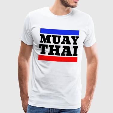 Muay Thai - Thai Boxing - Boxing - Black - Men's Premium T-Shirt