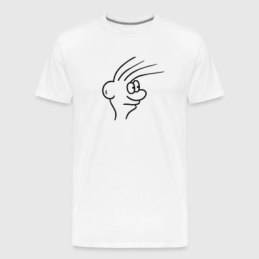 Comic - Face - Men's Premium T-Shirt