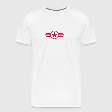 star with wings - Mannen Premium T-shirt