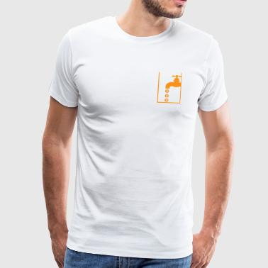 Bitcoin faucet - Men's Premium T-Shirt