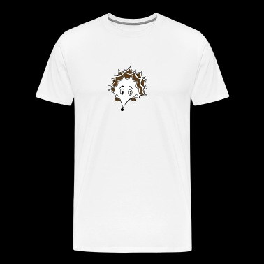 Hedgehog porcupine - Men's Premium T-Shirt