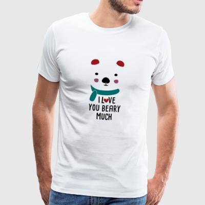 Beary Much - Men's Premium T-Shirt