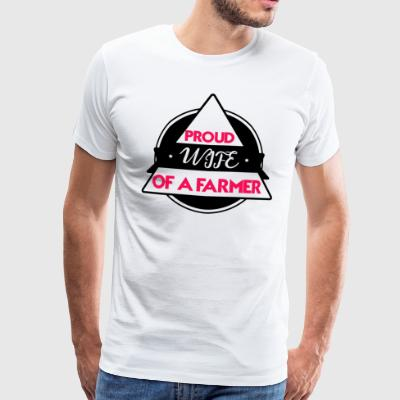 Farmer_Design-3 - Herre premium T-shirt