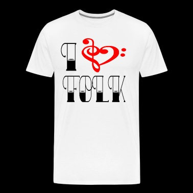 FOLK LOVE - Mannen Premium T-shirt