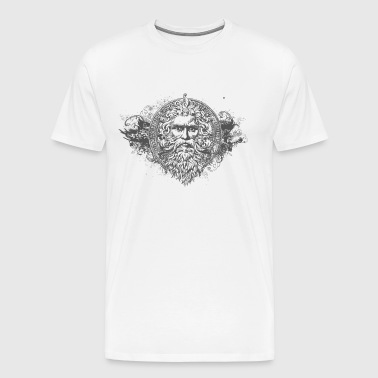 HIPSTER GOD - Men's Premium T-Shirt