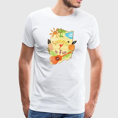 summer is fun - Men's Premium T-Shirt
