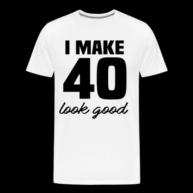 40th birthday - Men's Premium T-Shirt