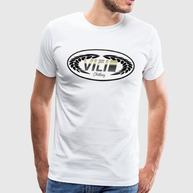 Vicio laurel wreath gold - Männer Premium T-Shirt