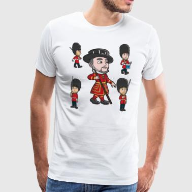 Guards and Beefeater - Men's Premium T-Shirt