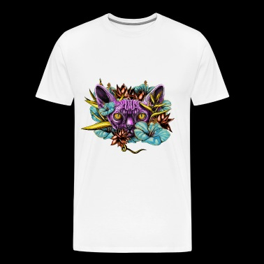 The Sphinx and the Flowers - Men's Premium T-Shirt
