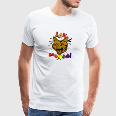 CATS | jaw-dropping - Mannen Premium T-shirt