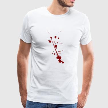 Blood splatter - Men's Premium T-Shirt