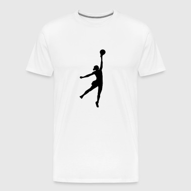 volleyball sports player spieler game waterball29 - Männer Premium T-Shirt