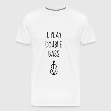Double Bass - Contrebasse - Music - Kontrabass - Men's Premium T-Shirt