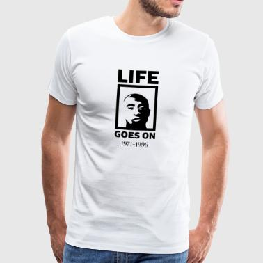 Life goes on - Männer Premium T-Shirt