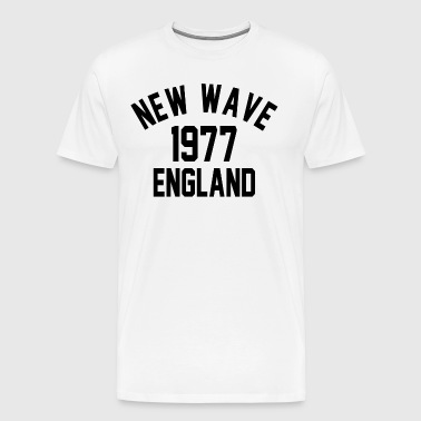 New Wave 1977 England - Men's Premium T-Shirt