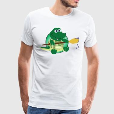 crocodile Alligator - T-shirt Premium Homme