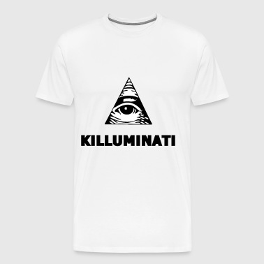 Killuminati Illuminati Truther konspirasjon - Premium T-skjorte for menn