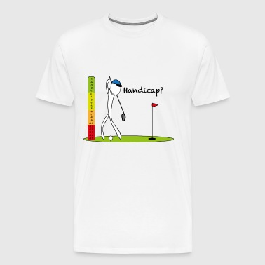 Golf Handicap Scala - Männer Premium T-Shirt