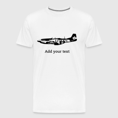 P51 Mustang - T-shirt Premium Homme