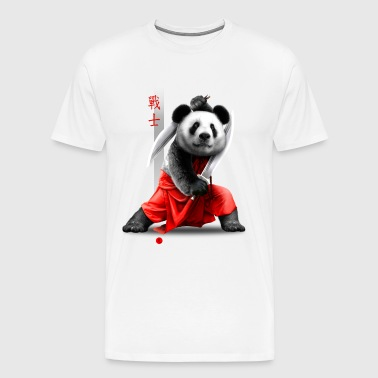 SWORDS PANDA - Men's Premium T-Shirt