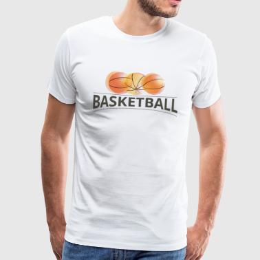 Basketball Long sleeve shirts - Men's Premium T-Shirt