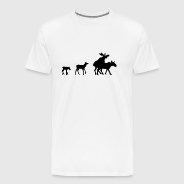 Transport famille Moose - T-shirt Premium Homme