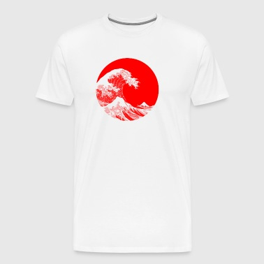 Hokusai Great Wave - T-shirt Premium Homme
