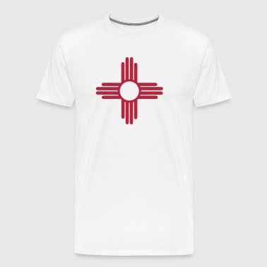 Ancient Sun Symbol of the Zia - Men's Premium T-Shirt