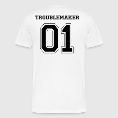 TROUBLEMAKER 01 Black Edition - Men's Premium T-Shirt