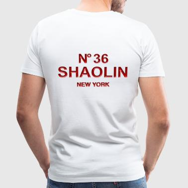 36 chambers of Shaolin Kungfu New York - Men's Premium T-Shirt