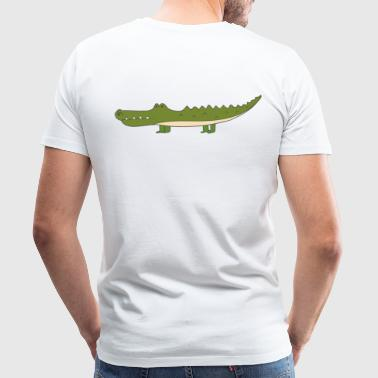 crocodile - Men's Premium T-Shirt