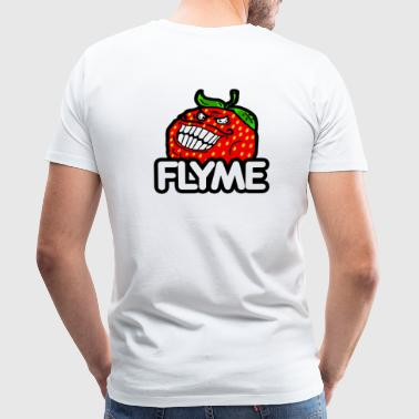 Strawberry Flyme - Mannen Premium T-shirt