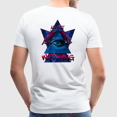 Think About Who's Watching Tee - Herre premium T-shirt