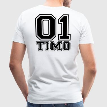 Timo - Name - Men's Premium T-Shirt
