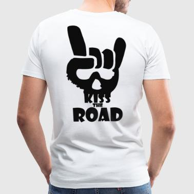 kiss road - Men's Premium T-Shirt
